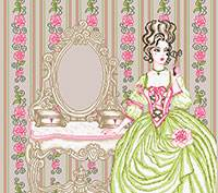 Cross stitch chart. Princesse Marie