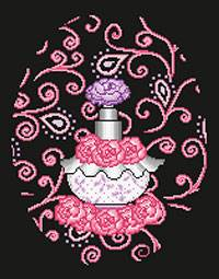Cross stitch chart. Parfum N °1
